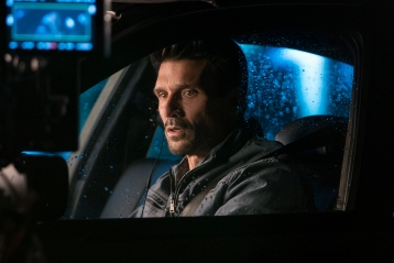 "(Netflix) Frank Grillo puts pedal to the metal in the nifty thriller ""Wheelman."""